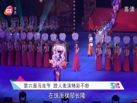 第六届马戏节  蹬人表演精彩不断